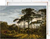 Schilderen Op Nummer Volwassenen - Italiaans Landschap - Met Frame - 40x50cm