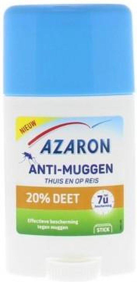 Azaron - Anti-Muggen 20% DEET Stick - Muggenbescherming