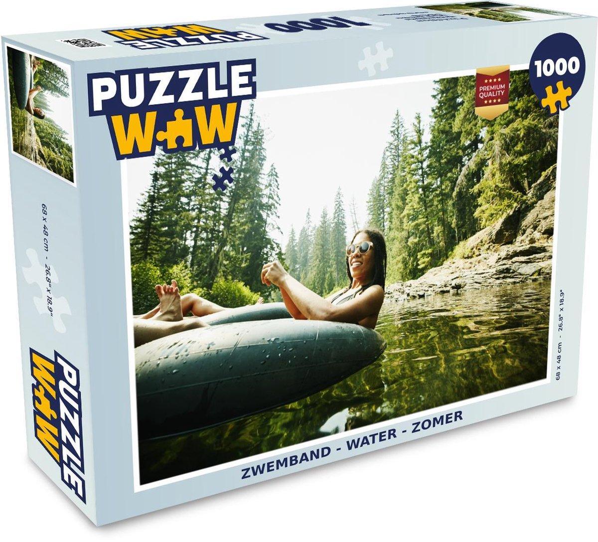 Puzzel 1000 stukjes volwassenen - Zwemband - Water - Zomer - 680x480 cm
