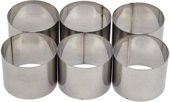 Cosy&Trendy Garneercirkel rond - 7 cm - 6 stuks