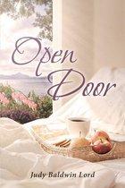 Boek cover Open Door van Judy Baldwin Lord