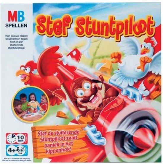 Thumbnail van een extra afbeelding van het spel Stef Stuntpiloot - Bordspel