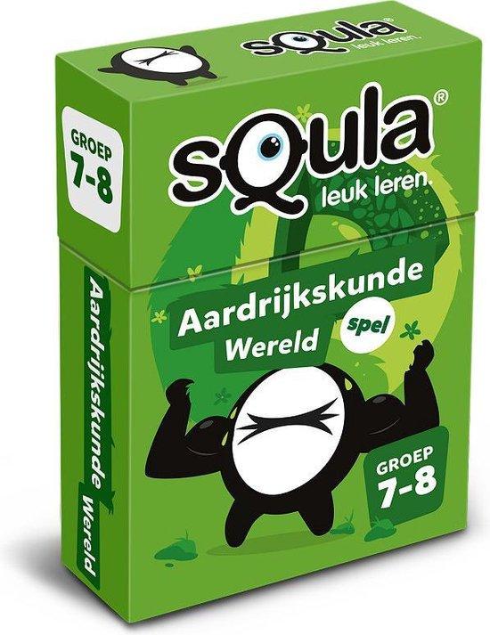 Afbeelding van het spel Squla Aardrijkskunde - Kaartspel