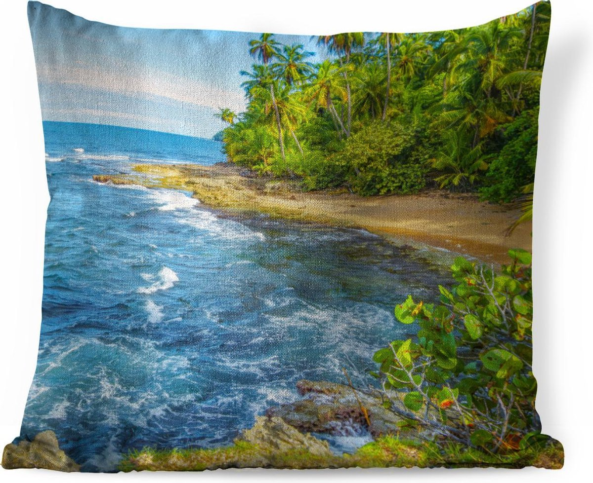 bol.com | Fotobehang Uitsne Costa Rica - Manzanillo strand