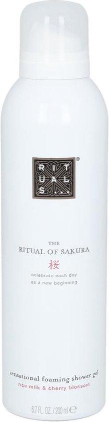 Afbeelding van RITUALS The Ritual of Sakura Foaming Shower Gel - 200 ml