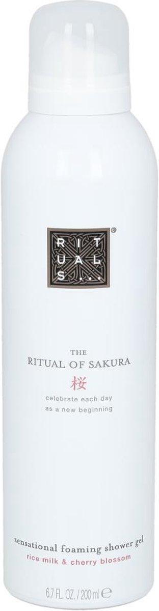 RITUALS The Ritual of Sakura Foaming Shower Gel - 200 ml op De Prijzenvolger