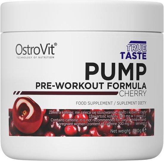 Pre-Workout - Pump Pre Workout 300g OstroVit - Citroen + GRATIS Bulk Shaker 700ml