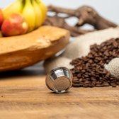 Herbruikbare - Hervulbare Lavazza A Modo Mio koffie capsule - Lavazza koffie cups - RVS