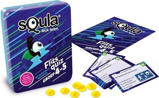 Afbeelding van het spel Squla flitsquiz groep 4-5 - Kaartspel
