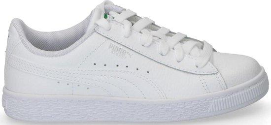 Puma Basket Trim schoenen Wit Zwart 369641_01 | Geen kleur