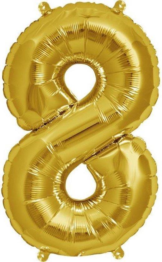 Folieballon gold