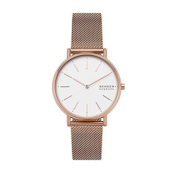 Skagen Signatur SKW2784 Horloge – Staal – Rosékleurig – Ø 38 mm