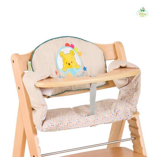Hauck Highchairpad Deluxe - Stoelverkleiner - Pooh Ready To Play - Hauck