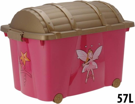 Opbergbox schatkist Prinsesjes