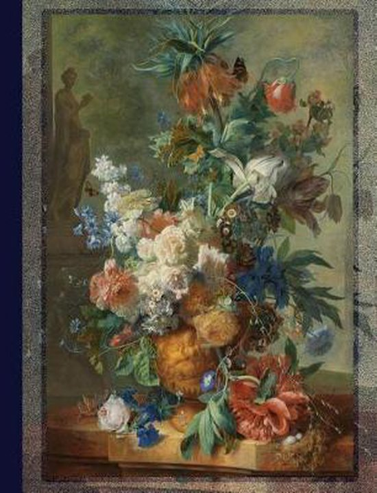 Composition Notebook Vintage Flowers 03
