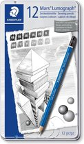STAEDTLER Mars Lumograph potlood - 12 stuks