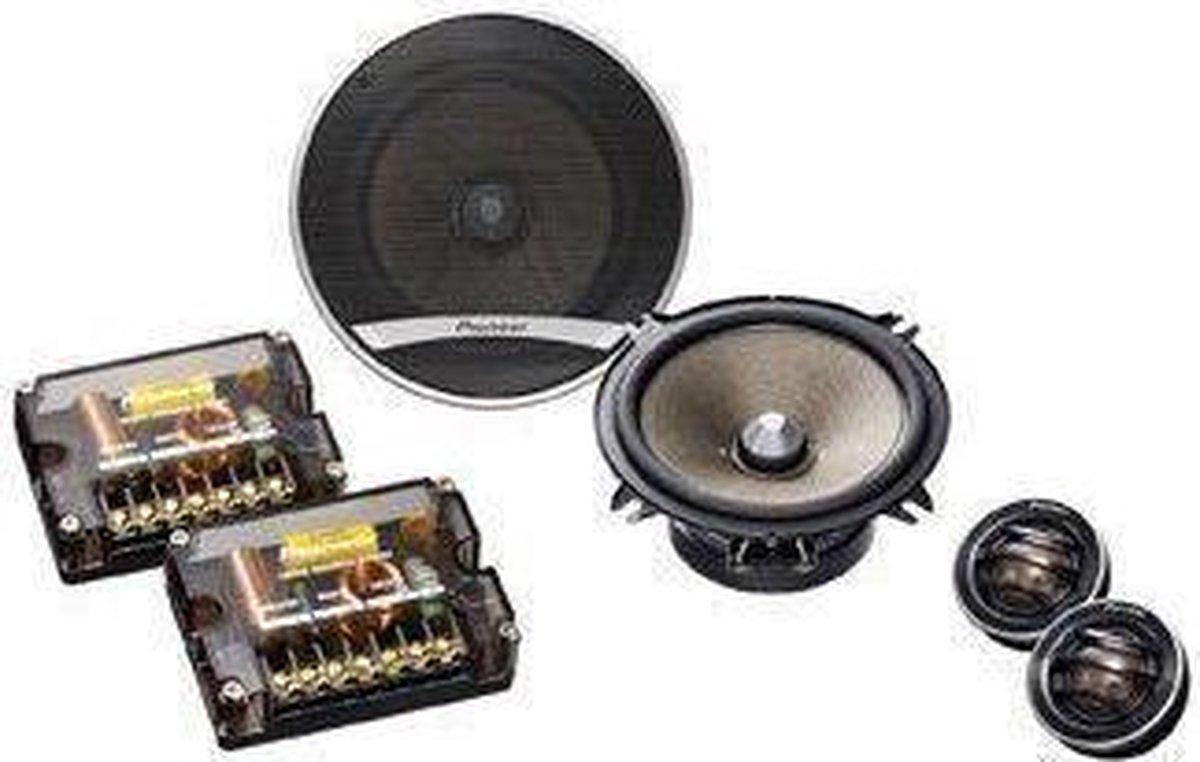 Pioneer TS-E130Ci - 2-weg Speakersysteem - 4 stuks - Zwart
