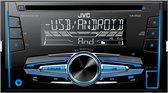 JVC KW-R520 - Autoradio met USB (2-DIN)