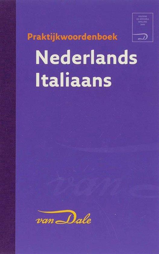 Cover van het boek 'Van Dale Zanichelli praktijkwoordenboek Nederlands Italiaans'
