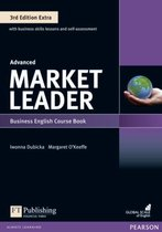 Boek cover Market Leader 3rd Edition Extra Advanced Coursebook with DVD-ROM Pack van Margaret OKeeffe (Paperback)