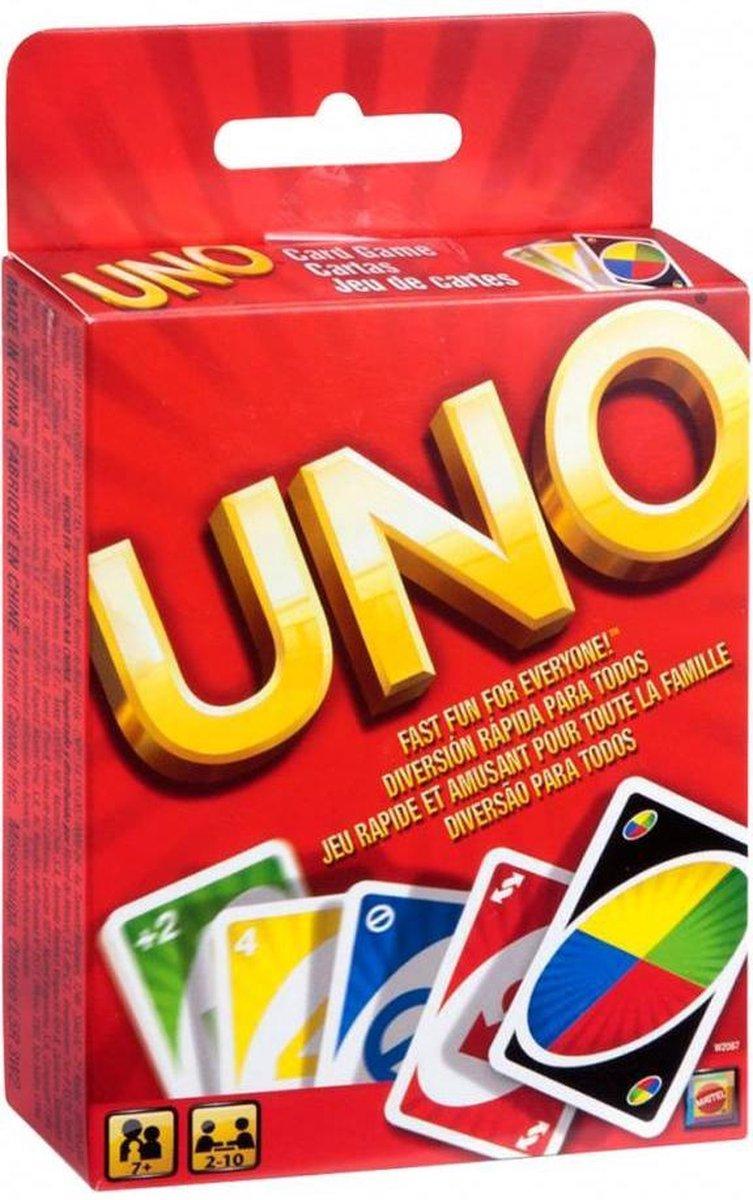Uno - Kaartspel - Mattel Games