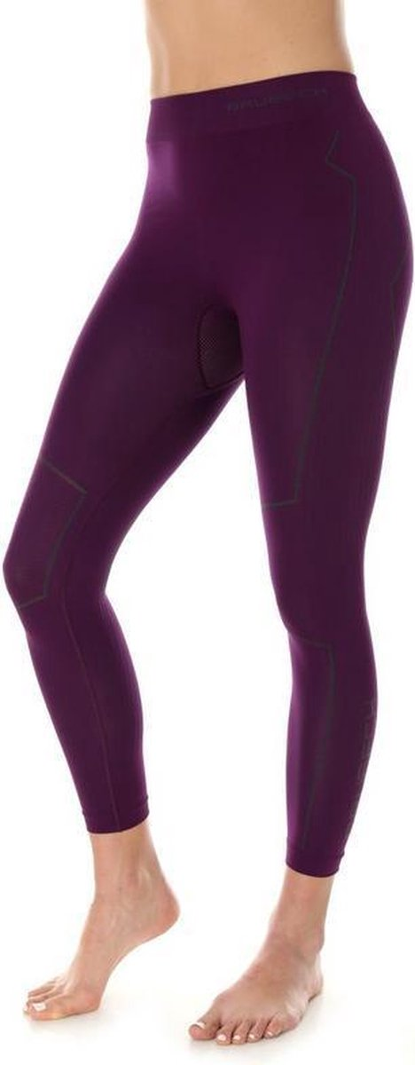 Brubeck | Dames Thermobroek - Thermokleding - met Nilit® Innergy - Violet - L