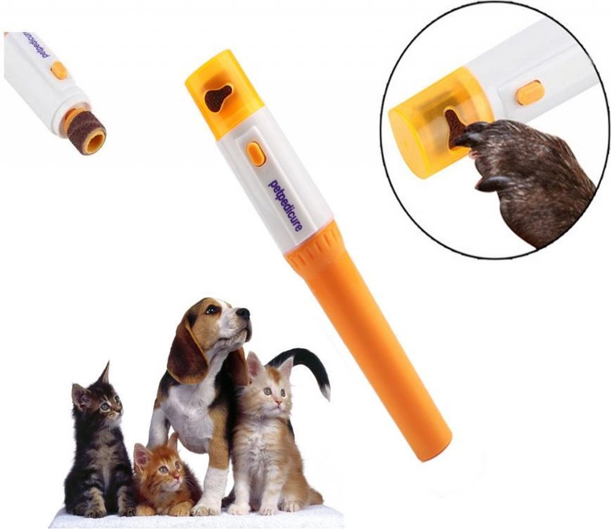Petpedicure Draadloze Elektrische Nagelvijl - Hond/Kat - Pets