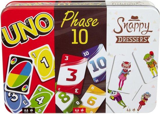Uno, Phase 10 en Snappy Dressers Bundel