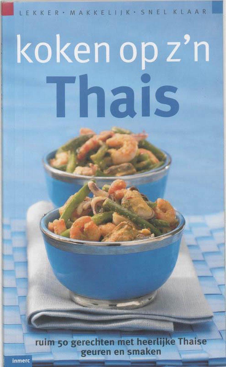 Koken Op Z'N Thais