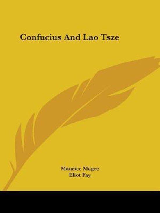 Confucius and Lao Tsze