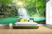 Erawan jungle waterval Fotobehang 380x265