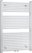 Thermrad Basic-6 handdoekradiator 1217x500mm, wit RAL9016 - 512 Watt