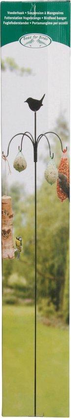 Esschert Design Voederhanger - Vogelvoederhuisje - Groen - 150 cm x 45 cm x 150 cm