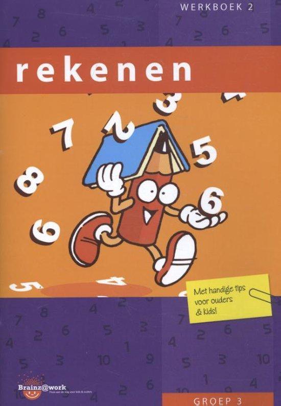 Brainz@work - Rekenen groep 3 Werkboek 2 - Inge van Dreumel |