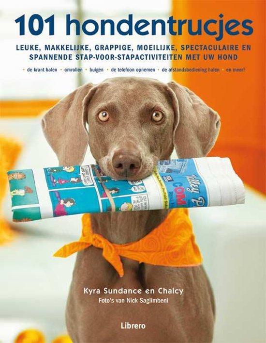 Cover van het boek '101 hondentrucjes' van Kyra Sundance