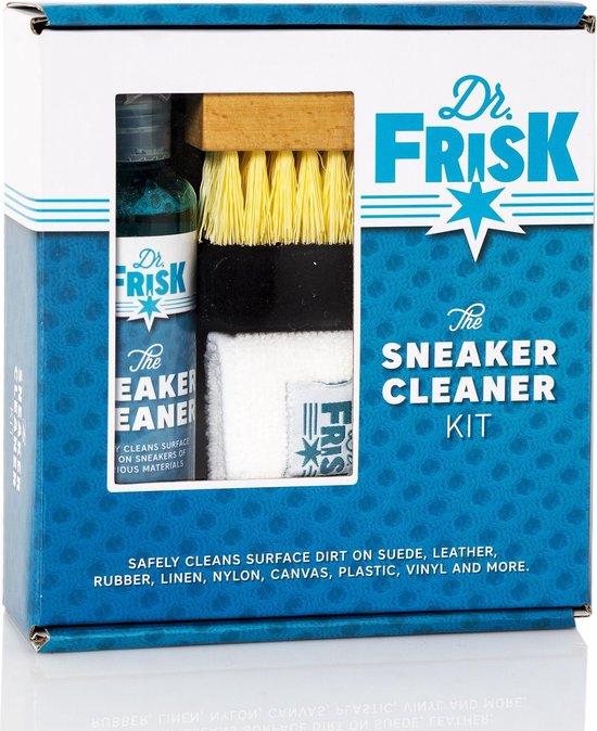 Dr.FrisK Sneaker Cleaner Kit / Schoenverzorging / biologisch schoonmaakmiddel set voor sneaker & schoenen ( alle materialen zoals Leer, Suède, Nubuck, Mesh, Katoen, etc. )