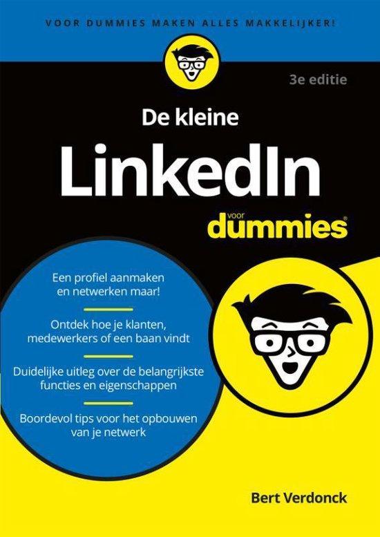 De kleine LinkedIn voor Dummies - Bert Verdonck |
