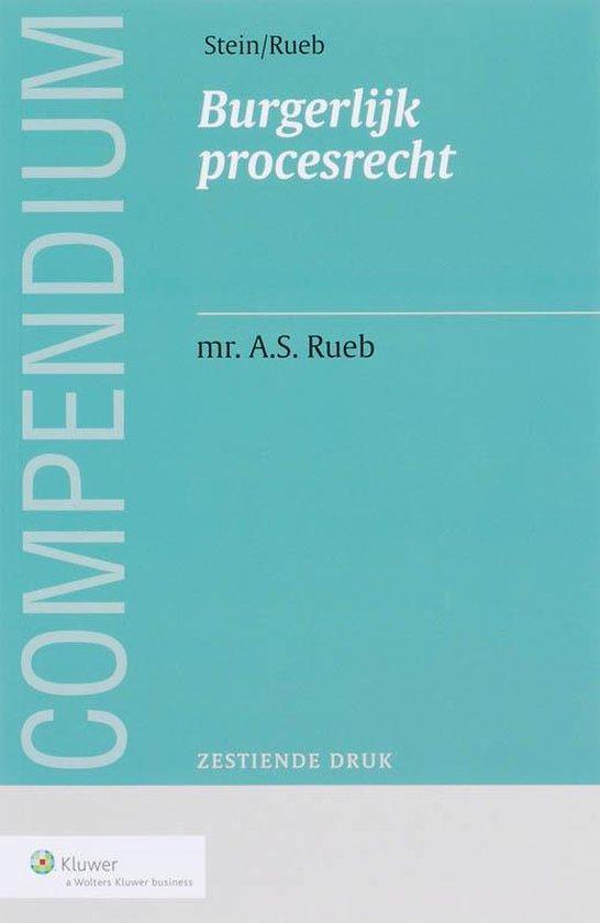 Compendium Van Het Burgerlijk Procesrecht - P.A. Stein |