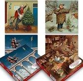 Marius van Dokkum kerstkaartenboxje (20 krt) set 1