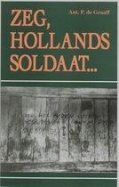Zeg hollands soldaat