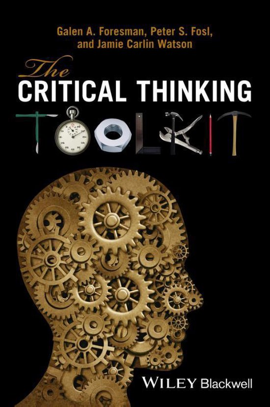 Boek cover The Critical Thinking Toolkit van Galen A. Foresman (Paperback)