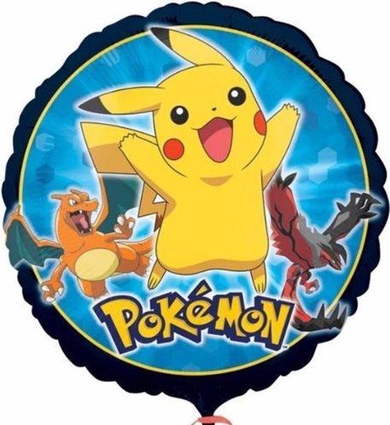 Pokemon / Pikachu Folieballon - Feestdecoratie--3 stuks