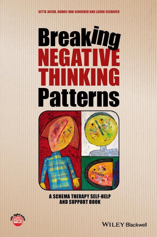 Boek cover Breaking Negative Thinking Patterns van Gitta Jacob (Onbekend)