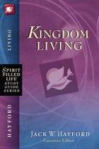 Boek cover Kingdom Living van Jack W. Hayford