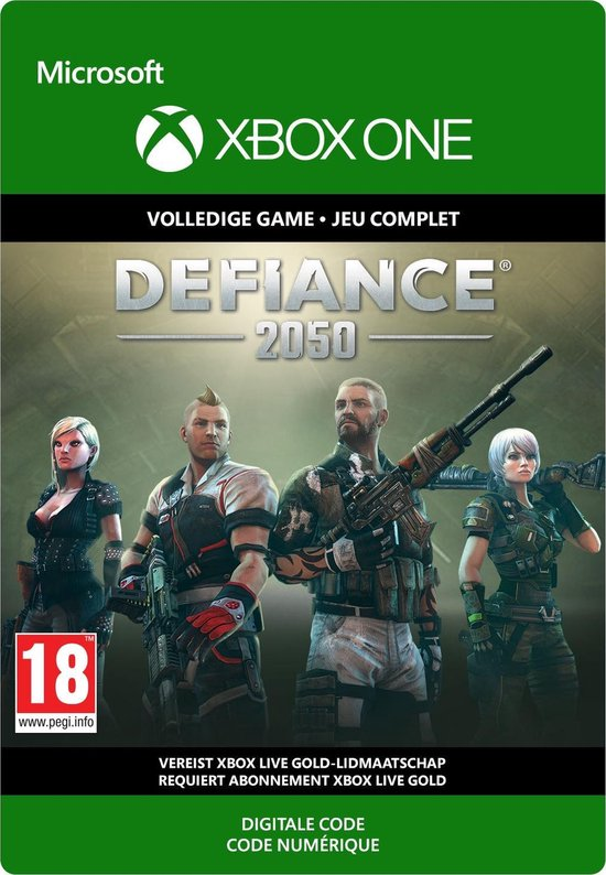 Defiance 2050: Class Founder's Pack – Xbox One Download