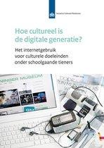 Hoe cultureel is de digitale generatie?