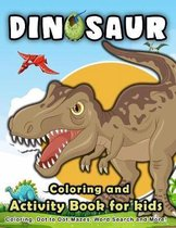 Dinosaur Coloring and Activity Book for Kids