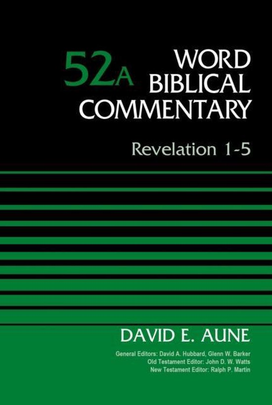 Boek cover Revelation 1-5, Volume 52A van Dr. David Aune (Hardcover)
