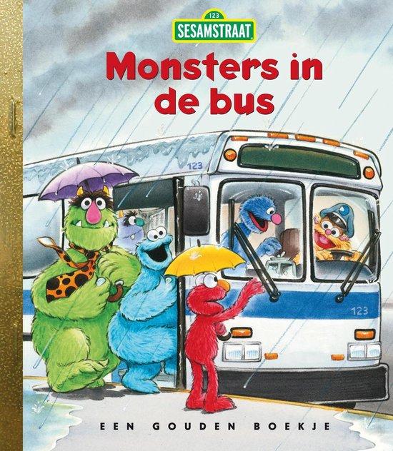 Boek cover Sesamstraat - Monsters in de bus van Sarah Albee (Hardcover)