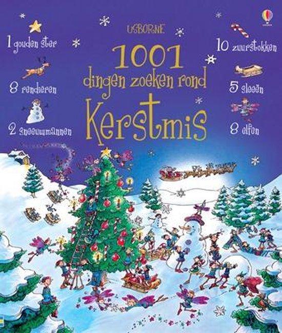 Cover van het boek '1001 dingen zoeken rond Kerstmis' van A. Frith